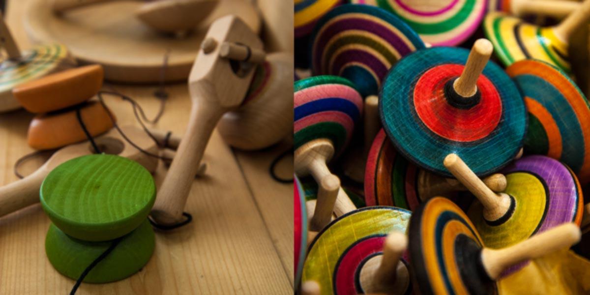 Bio vegan shop Eco&Gea, giocattoli artigianali