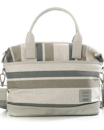 Vegan-Citybag-stripy-cream 1