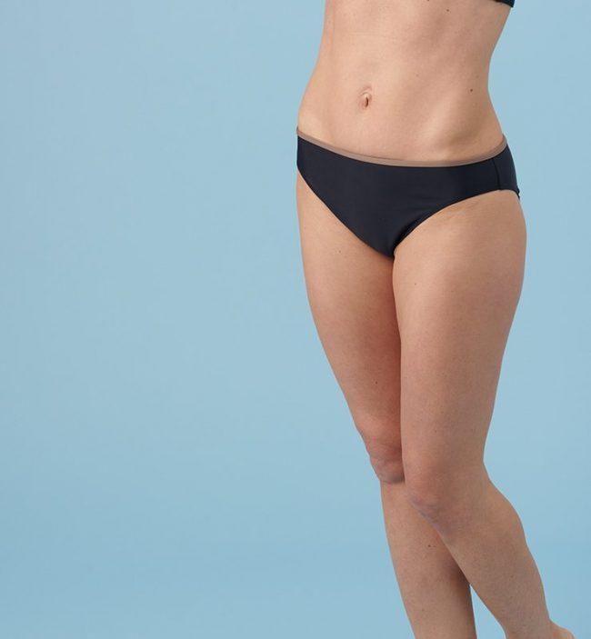 Slip costume classico eco bikini-nero