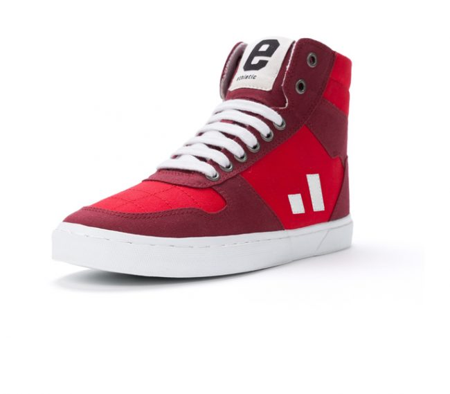 Ethletic Fair Sneaker Hiro II Cranberry Red