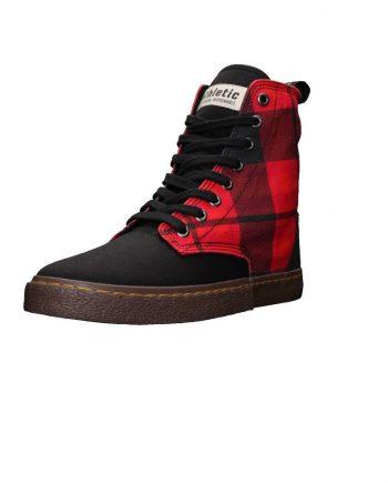 scarpe-unisex-ethletic-fair-sneaker-modello-brock-tartan-fire-starter-laterale