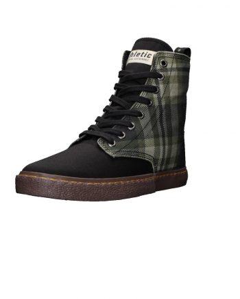 Ethletic Fair Sneaker Brock Tartan Mystic Green (3)