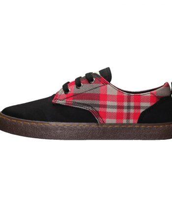 scarpe-unisex-ethletic-fair-sneaker-modello-brody-tartan-rough-rug-lato-sinistro