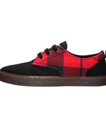 scarpe-unisex-ethletic-fair-sneaker-modello-brody-tartan-fire-starter-lato-sinistro