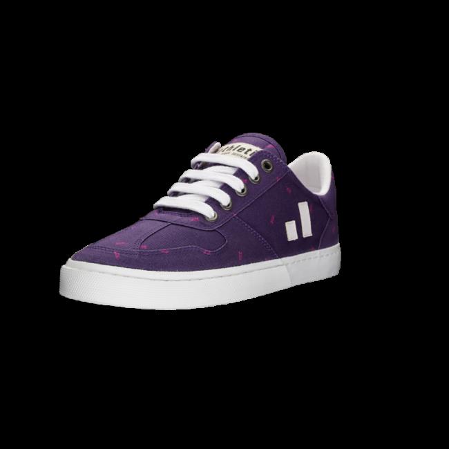 Ethletic Fair Sneaker Root II Purple Rain _ Snow Leopard Purple