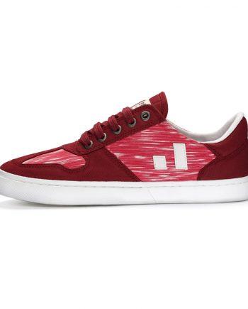 Ethletic Fair Sneaker Root II Red Melange (2)