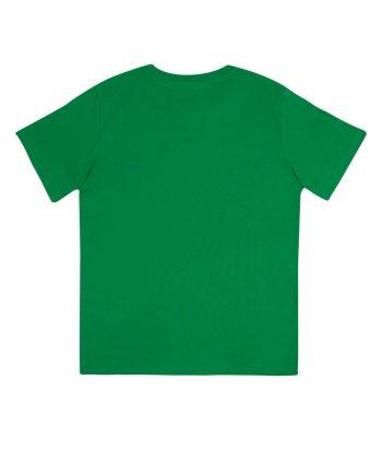 t-shirt-junior-classica-cotone-organico-colore-kelly-green-retro