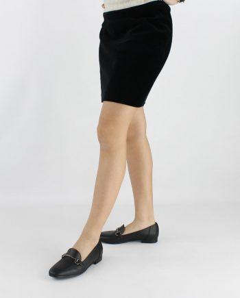 Mocassini-donna-impermeabile-Marrone-Animal-Free-figura-intera