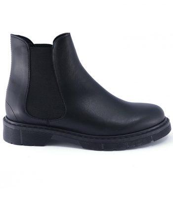 Scarpe-donna-impermeabile-con-calzata-elastica-senza-lacci-colore-nero