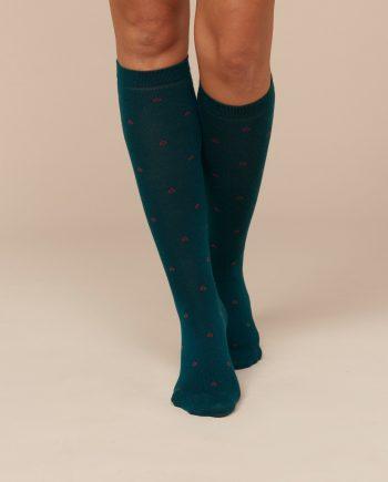 Calzini-lunghi-donna-tessuto-naturale-ottanio (1)