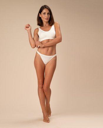 perizoma elasticizzato donna crema-casagin-perizoma elasticizzato donna crema-casagin-figura-intera-fronte
