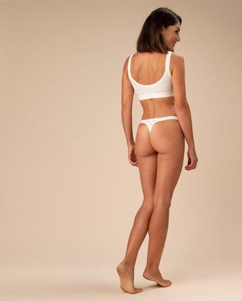 perizoma elasticizzato donna crema-casagin-figura-intera-retro