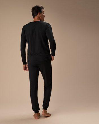 pigiama-uomo-nero-retro-intero-retro