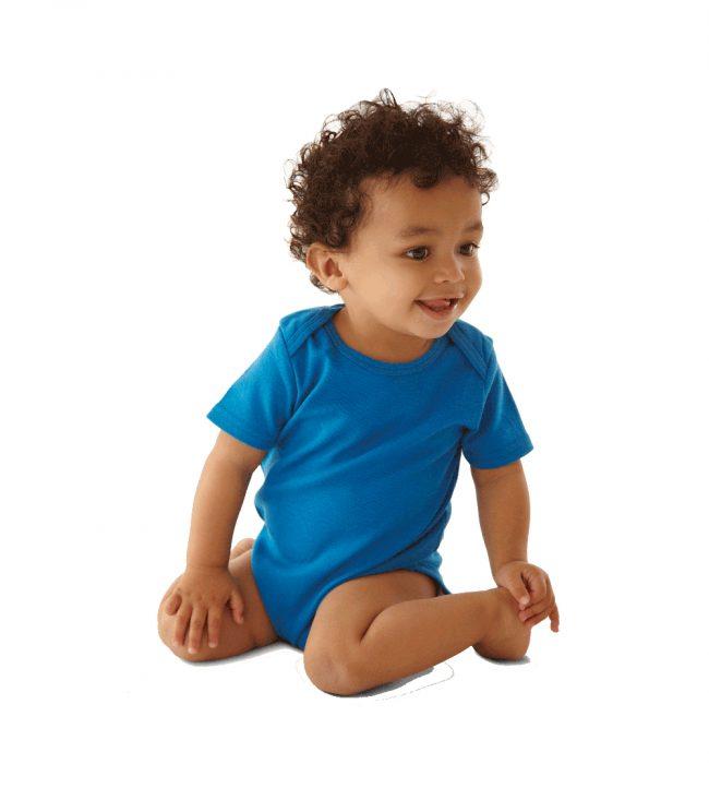 body bambino blu