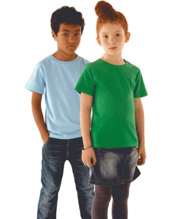 t-shirt bambini cotone organico