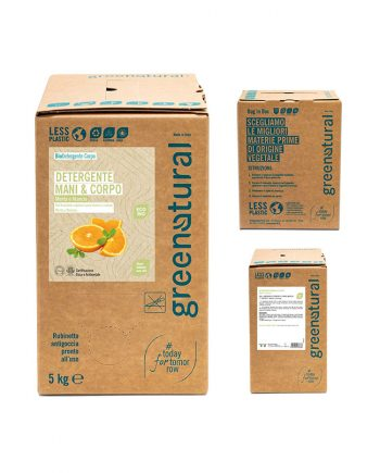 bag in box detergente-mani-corpo-5kg-greenatural