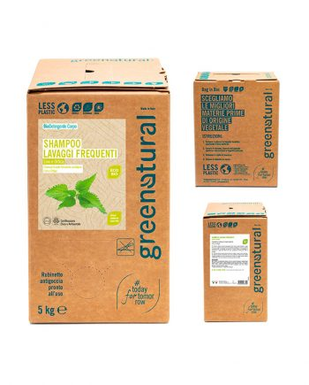 bag in box shampoo-lavaggi-frequenti-5kg-greenatural
