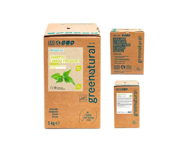 bag in box shampoo-lavaggi-frequenti-5kg-greenatural
