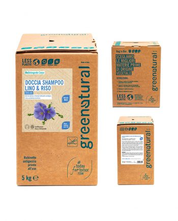 bag in box docciashampoo-lino-riso-5kg-greenatural