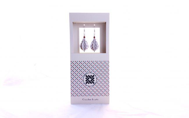 orecchini-di-carta-linea-grafia-7-nodi-laboratorio artigianale