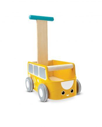 PlanToys_VAN_WALKER_-_YELLOW_Push_and_Pull_Gross_Motor_Coordination_Imagination_12m_Wooden_toys