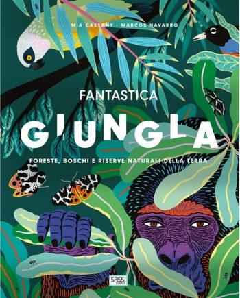 libro sassi junior sulla natura - fantastica giungla