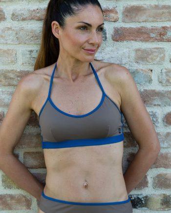 Bikini top eco-blu