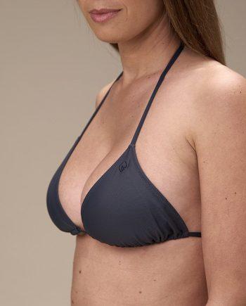 Top triangolo con coppa eco bikini-fronte-2