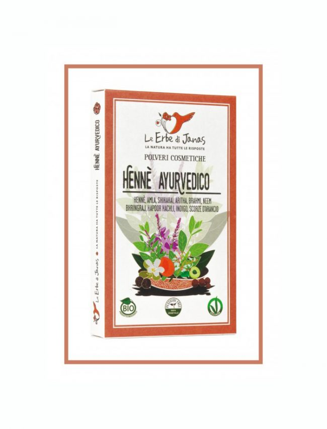 Erbe-polveri-cosmetiche-Hennè-Ayurvedico