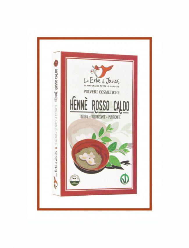 Erbe-polveri-cosmetiche-Hennè-Rosso-Caldo