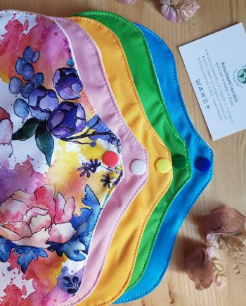 assorbenti lavabili-giorno-colori assortiti